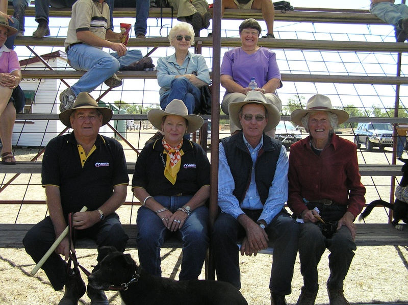 Handlers at Brigalow Trial 2006